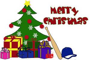 merry christmas - Baseball Christmas