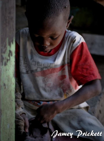 (Photo taken in an orphanage in Kibera slum, Nairobi, Kenya.)